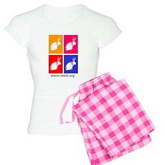 Colored Wood Block Pajamas