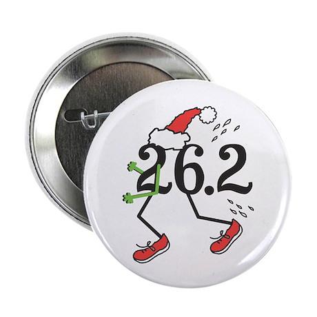 """Holiday 26.2 Marathoner 2.25"""" Button"""