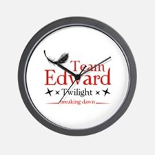 Team Edward Wall Clock