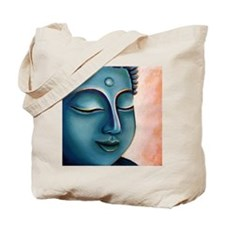 Blue Goddess of Compassion Tote Bag