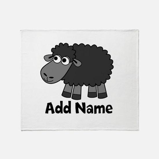 Add Name - Farm Animals Throw Blanket