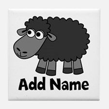 Add Name - Farm Animals Tile Coaster
