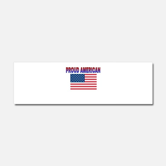Proud American Car Magnet 10 x 3