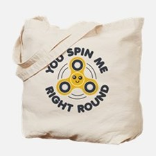 Funny Spinner Tote Bag