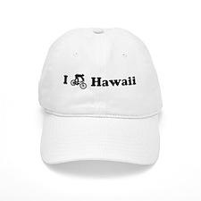 Mountain Bike Hawaii Baseball Cap