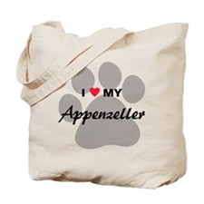 I Love My Appenzeller Tote Bag