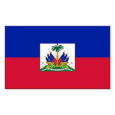 Flag of Haiti Rectangle Decal