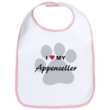 I Love My Appenzeller Bib