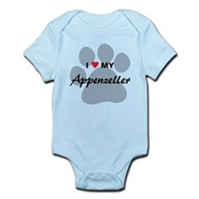 I Love My Appenzeller Infant Bodysuit