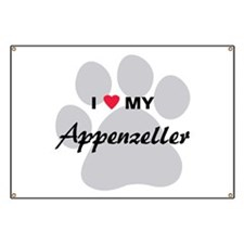 I Love My Appenzeller Banner
