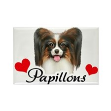 Love Papillons! Rectangle Magnet