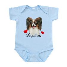 Love Papillons! Infant Bodysuit