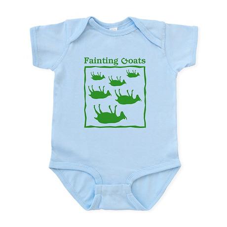 Fainting Goats Infant Bodysuit