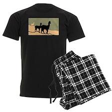Alpacas Hillside Pajamas