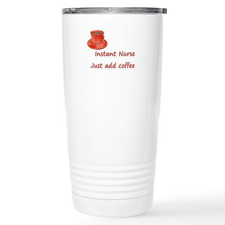 Instant Nurse Stainless Steel Travel Mug