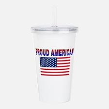 Proud American Acrylic Double-wall Tumbler