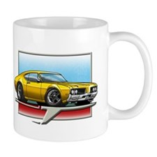 Gold 1969 Cutlass Mug