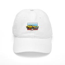 Gold 1969 Cutlass Baseball Cap