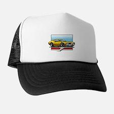 Gold 1969 Cutlass Trucker Hat