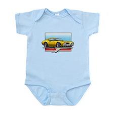 Gold 1969 Cutlass Infant Bodysuit