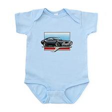 Black 1969 Cutlass Infant Bodysuit