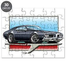 Black 1969 Cutlass Puzzle