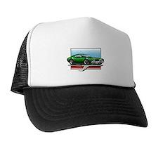 Green 1969 Cutlass Trucker Hat