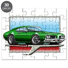 Green 1969 Cutlass Puzzle