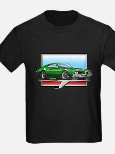 Green 1969 Cutlass T