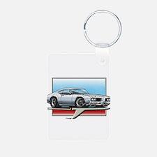 White 1969 Cutlass Keychains