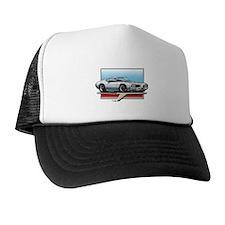 White 1969 Cutlass Trucker Hat