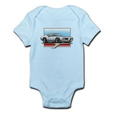 White 1969 Cutlass Infant Bodysuit