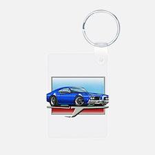 Blue 1969 Cutlass Keychains