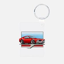 Red 1969 Cutlass Keychains