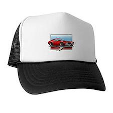 Red 1969 Cutlass Trucker Hat