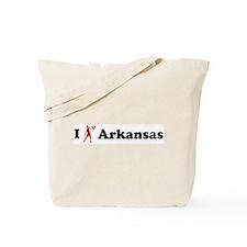 Arkansas Basketball Tote Bag