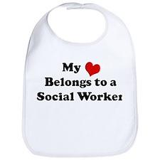 Heart Belongs: Social Worker Bib