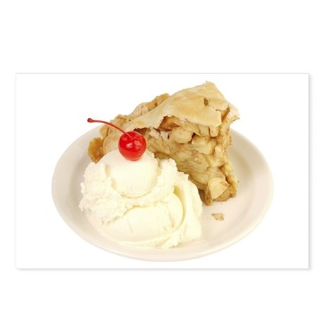 Some Apple Pie On Your Postcards (Package of 8)