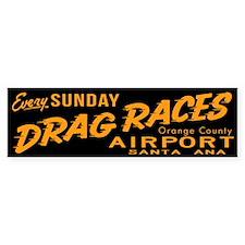 Drag Races Bumper Sticker