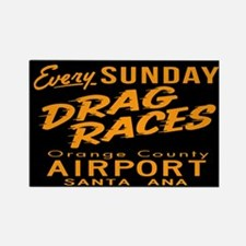 Drag Races Rectangle Magnet
