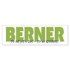 Berner IT'S AN ADVENTURE Bumper Car Sticker