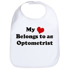 Heart Belongs: Optometrist Bib