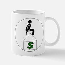 POOP ON BANK Mug