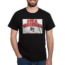Soca Warriors Black T-Shirt