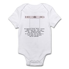 Missing - My Imaginary Friend Infant Bodysuit