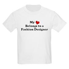 Heart Belongs: Fashion Design Kids T-Shirt