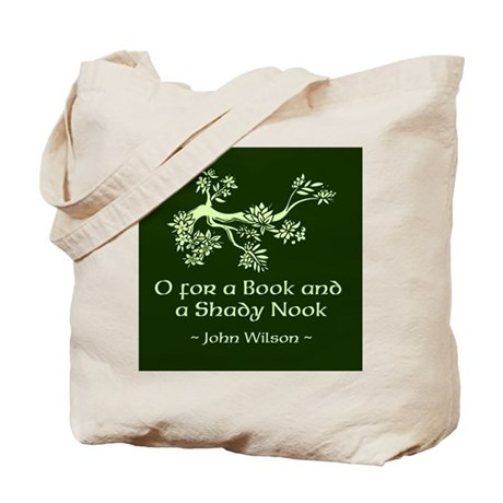 O for a Book Tote Bag