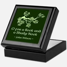 O for a Book Keepsake Box
