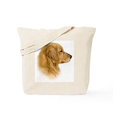 Golden Retriever Portrait Tote Bag