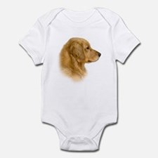 Golden Retriever Portrait Infant Creeper
